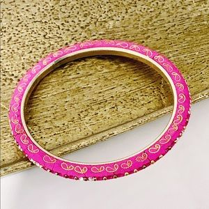 Vintage Bollywood Styled Fabric Handcrafted Bangle